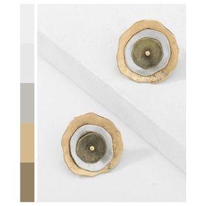 Handcrafted Geometric Earrings